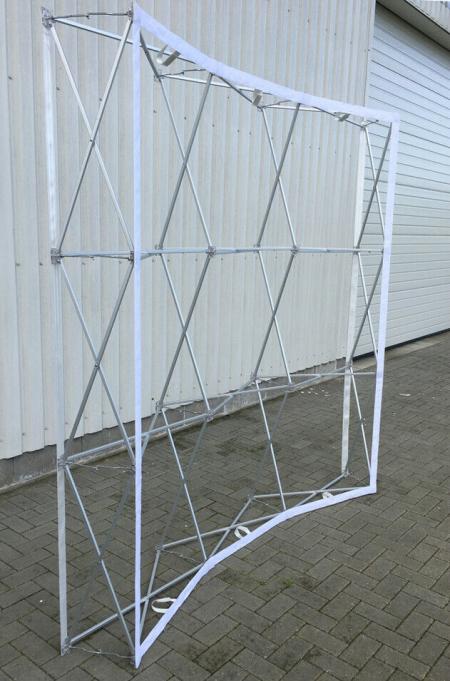 Pop-up Display 4X3 gebogen