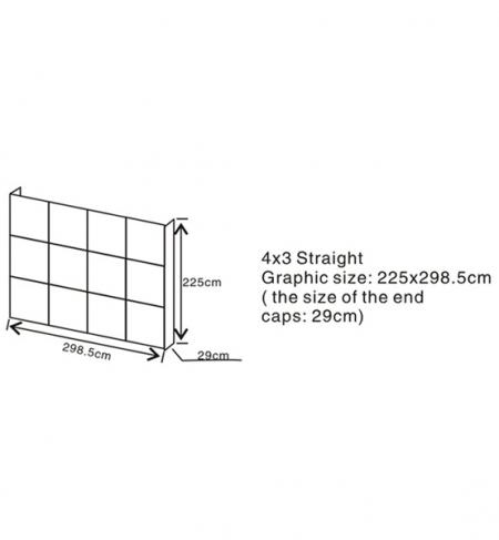 Pop-up Display 4X3