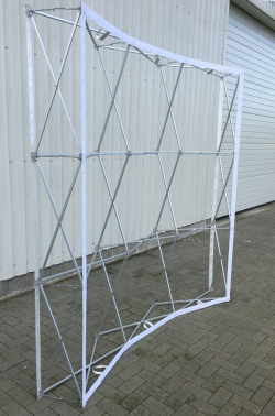 Pop-up Display 3X3 gebogen