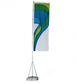 Fahnenmast Giant Flag