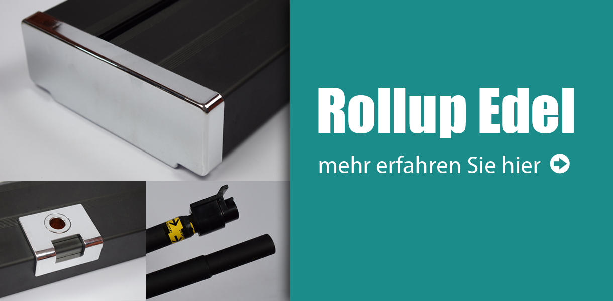 Rollup Display Edel, Rollup-System